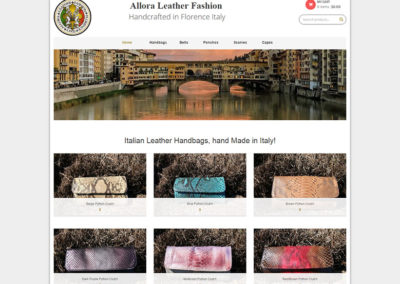Allora Leather Fashion